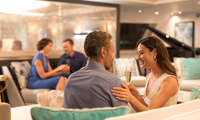 Crystal Esprit - cruise decore - crystal cruises - on board experiences