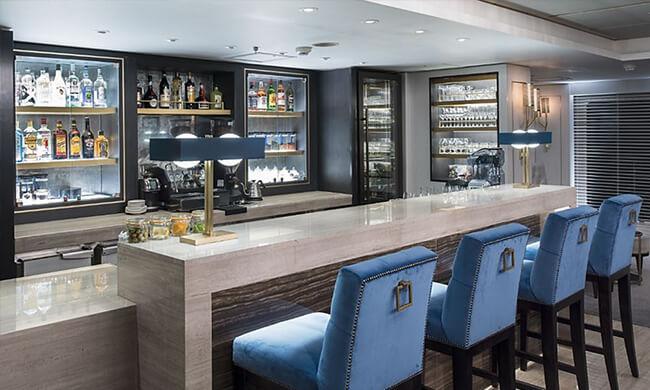 Crystal Esprit - on board bars - crystal cruises